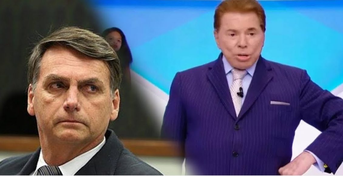 Silvio Santos se aproxima mais de Bolsonaro, que deve receber programa 'Semana do Presidente', no SBT – Foto/Montagem