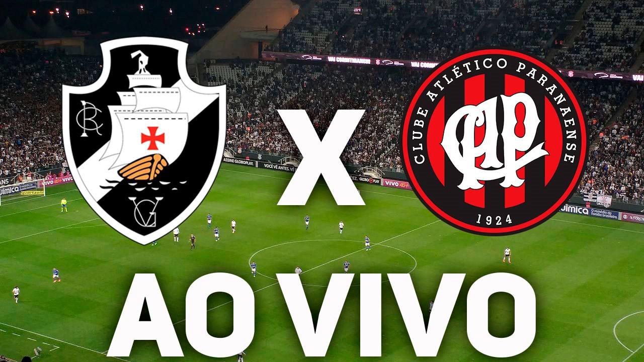 Vasco x Atlético-PR ao vivo - Foto/Divulgação