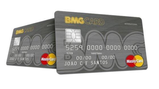 Cartão de Crédito BMG Mastercard pode ser usado em todo o país e aplicativo permite acompanhar fatura – Foto/Montagem
