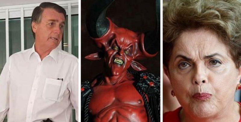 Em discurso polêmico, Dilma diz que se aliará até com o diabo para luta contra Bolsonaro - Foto/Divulgação