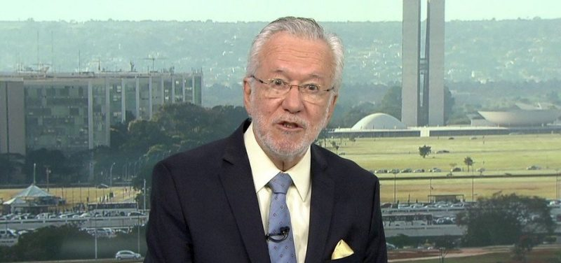 Alexandre Garcia pode assumir assessoria de comunicação do governo de Jair Bolsonaro, diz site - Foto/Divulgação