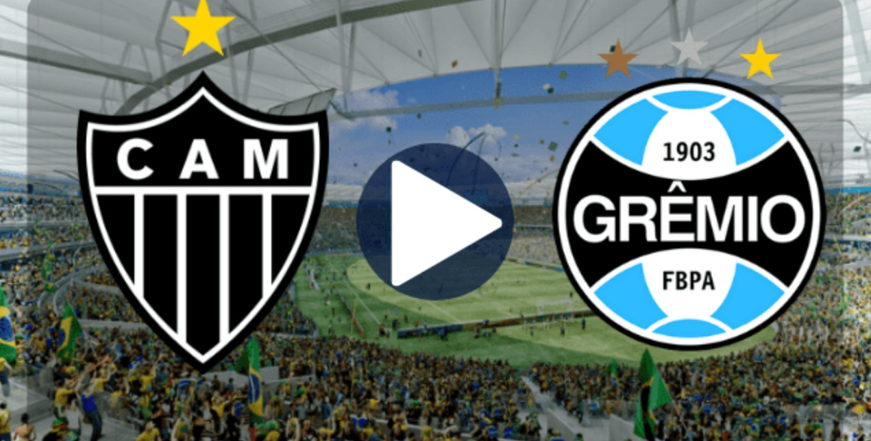 Grêmio x Atlético-MG ao vivo - Foto/Divulgação