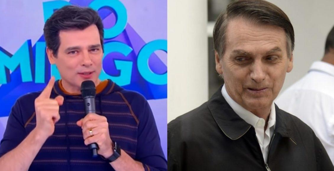Apresentador Celso Portiolli bate boca com fãs por Bolsonaro e vinheta polêmica do SBT – Foto/Divulgação