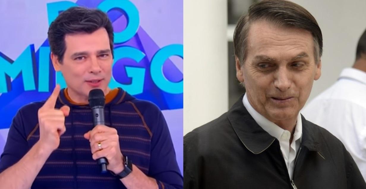 Apresentador Celso Portiolli bate boca com fãs por Bolsonaro e vinheta polêmica do SBT - Foto/Divulgação