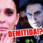 Fernanda Lima será demitida da Globo após falar mal de Bolsonaro? -Foto/Divulgação