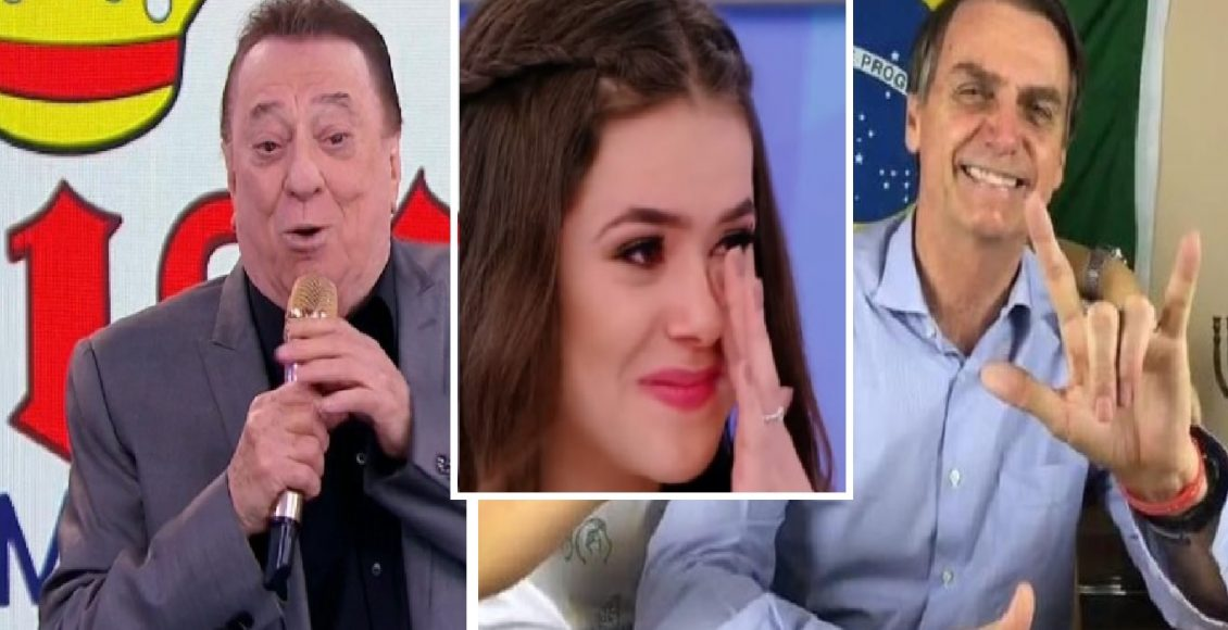 Raul Gil faz elogio a Bolsonaro e manda indireta ao PT – Foto/Divulgação