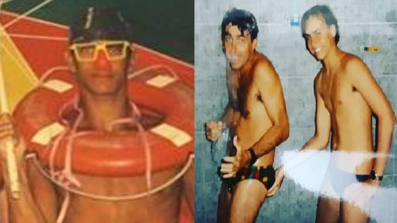Família Bolsonaro aparece em fotos antigas e união fica evidente - Foto/Divulgação