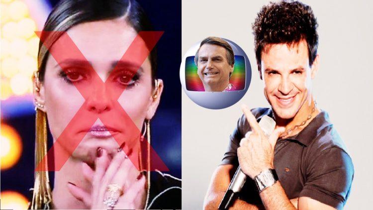 Fernanda Lima é ignorada e Globo confirma Eduardo Costa em programa após polêmica sobre Bolsonaro - Foto/Reprodução
