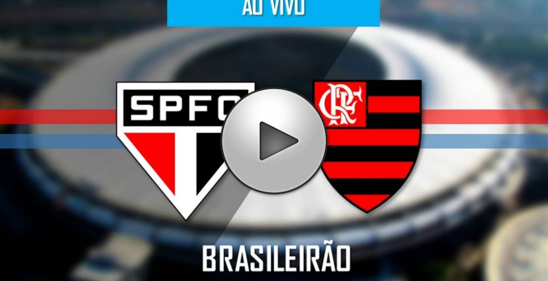 Assistir São Paulo x Flamengo  ao vivo online – Foto/Divulgação