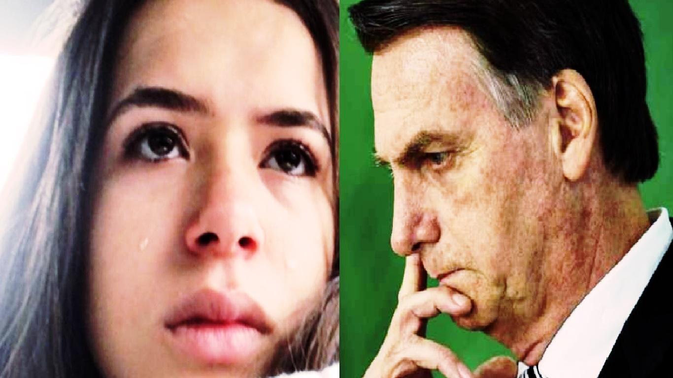 Maísa Silva é atacada por fãs de Bolsonaro após Teleton - Foto/Montagem