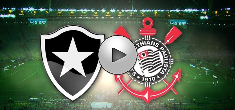 Corinthians x Botafogo ao vivo - Foto/Divulgação