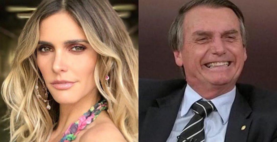 Fernanda Lima é mal educada com fã de Bolsonaro – Foto/Divulgação