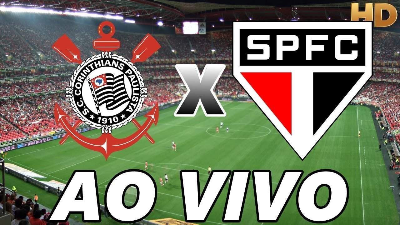 Saiba como assistir Corinthians x São Paulo ao vivo online - Foto/Divulgação