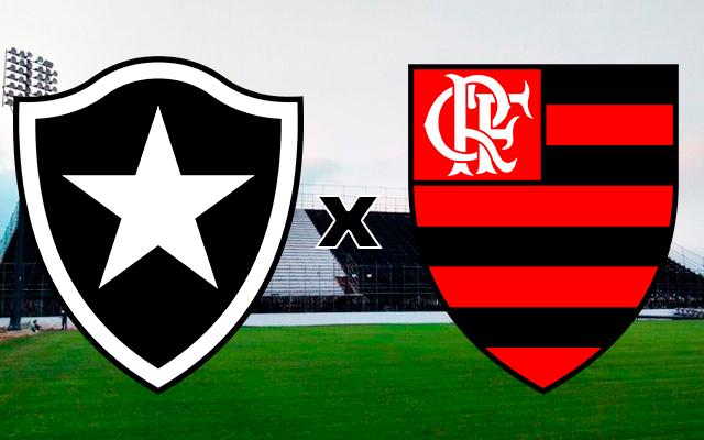 Botafogo x Flamengo ao vivo online - Foto/Divulgação