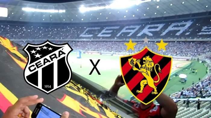 Ceará x Sport ao vivo online - Foto/Divulgação