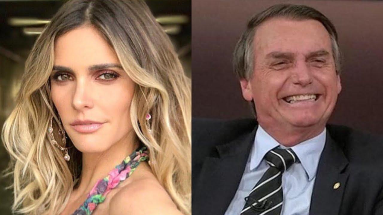 Fernanda Lima é mal educada com fã de Bolsonaro - Foto/Divulgação