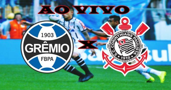 Assistir Gremio x Corinthians ao vivo neste domingo. Foto/Montagem