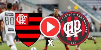 Jogo do Flamengo e Atletico ao vivo online. Foto/Montagem
