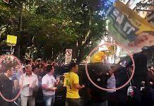 Novo video de Adelio Bispo tentativa de esfaquear Bolsonaro. Foto/Captura