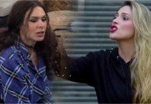 A Record pretendia promover o encontro das duas ex-peoas, mas Nadja não quis nem saber