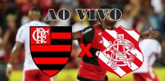 Assistir Flamengo x Bangu ao vivo. (Montagem)