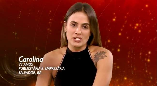 Carolina é uma das participantes do BBB19 - Foto-Gshow-TV Globo