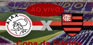 Onde assistir jogo do Flamengo x Ajax pela copa da Florida (Flórida Cup 2019) /Foto/Montagem