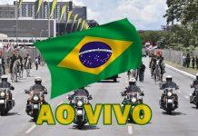 Posse presidencial ao vivo Jair Bolsonaro. Foto/Montagem