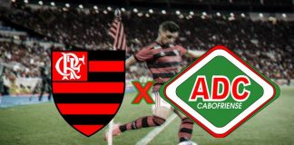 Veja onde assistir Flamengo ao vivo x Cabofriense hoje. Foto/Montagem