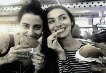 Marina Moschen e Isabela Bertazzi juntas. Foto/Reprodução
