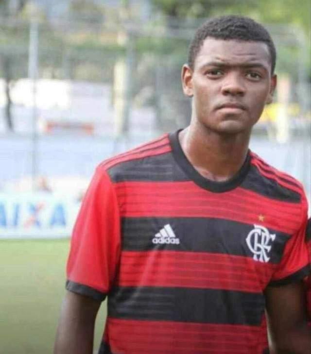 Vítima Pablo Henrique, jogava no sub-17 do clube. Foto/Reprodução
