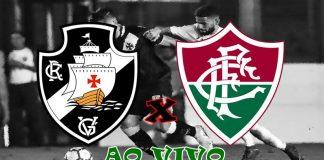 Vasco e Fluminense ao vivo online. Foto/Montagem
