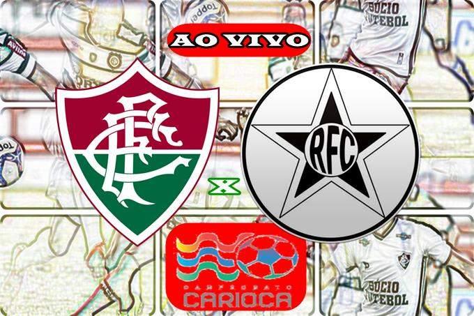 Jogo Fluminense x Resende online. Foto/Reprodução