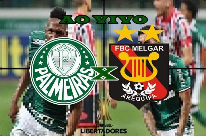 Assistir o jogo Palmeiras x Melgar ao vivo online. foto/Montagem