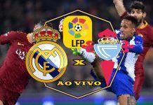 Jogo Real Madrid vs Celta de Vigo ao vivo. Foto/Montagem