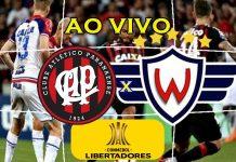 Jogo do Athletico Paranaense x Jorge Wilstermann ao vivo online. Foto/Montagem