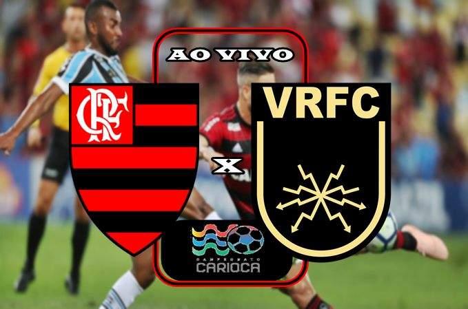 Veja onde ver o jogo do Flamengo e Volta Redonda ao vivo neste sábado. Foto/Montagem