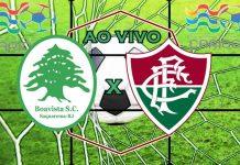 Onde vai passar o Jogo do Fluminense x Boavista ao vivo online. Foto/Montagem