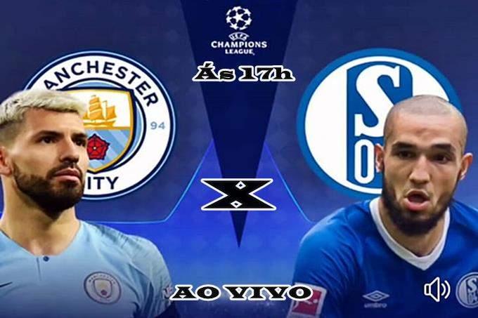Manchester City X Schalke en VIVO online. Foto/Reprodução