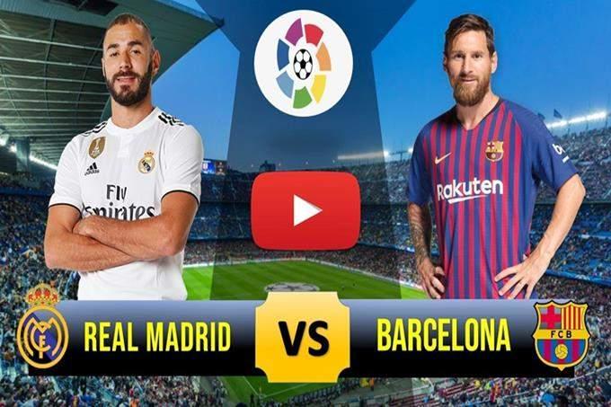 Veja onde vai passar o jogo Real Madrid vs Barcelona ao vivo. Foto/Reprodução