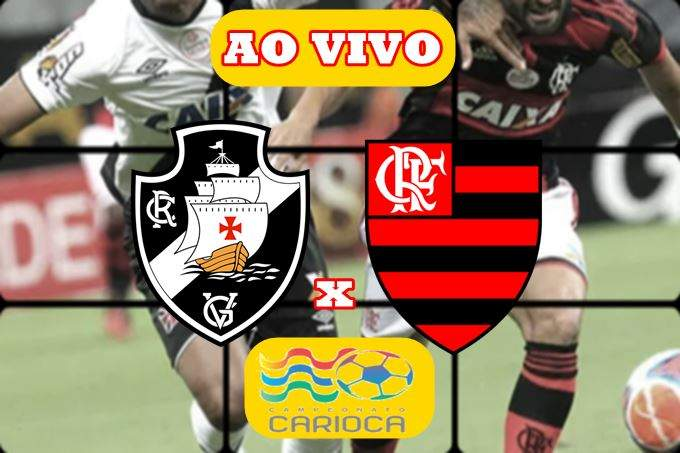 Onde Assistir Vasco x Flamengo ao vivo. Foto/Montagem
