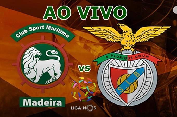 Onde assistir Maritimo x Benfica ao vivo online. Foto/Montagem