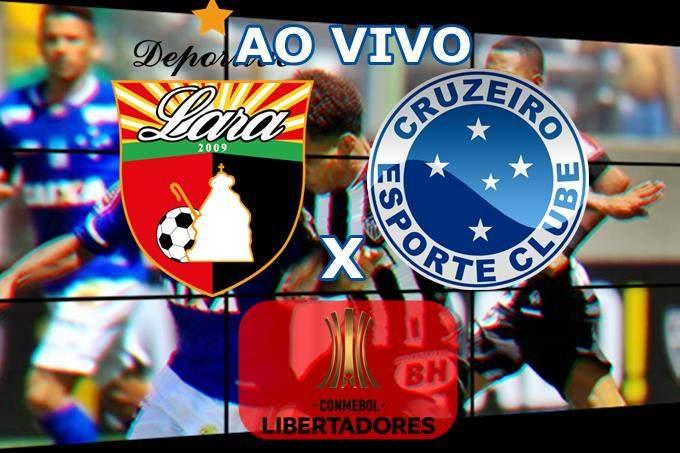 Onde assistir Deportivo Lara x Cruzeiro ao vivo online. Foto/Montagem