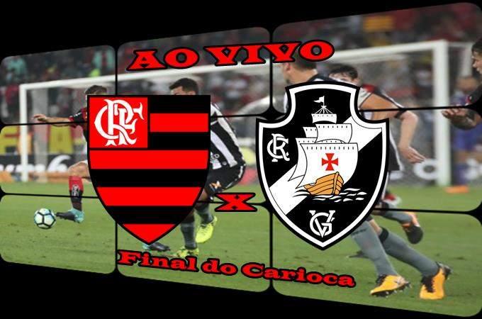 Veja onde assisti o jogo do Flamengo ao vivo x Vasco ao vivo final do Carioca. Foto/Montagem