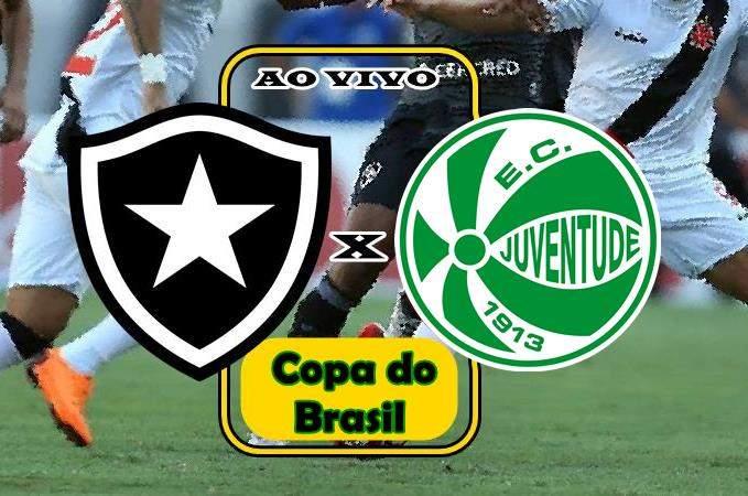 Jogo do Botafogo ao vivo. Onde assistir Botafogo x Juventude ao vivo online. Foto/Montagem