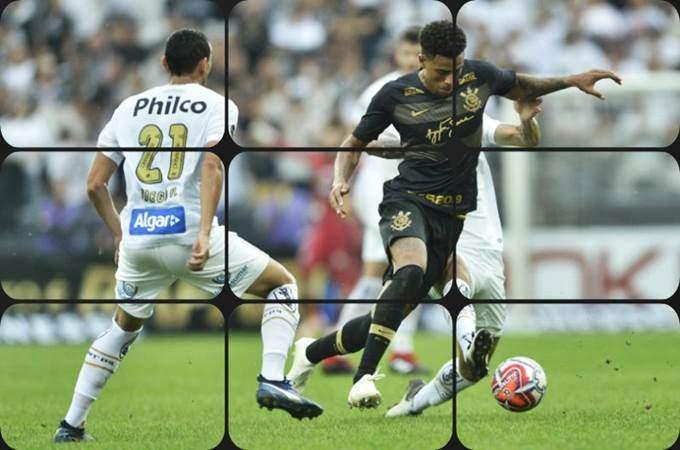 Santos e Corinthians ao vivo online: os time disputam nesta segunda uma vaga na final do Paulistão. foto/Reprodução