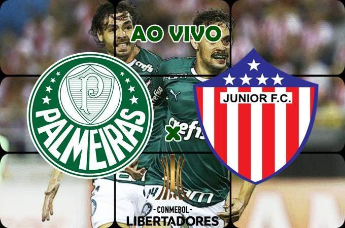 Onde assistir o jogo Palmeiras x Junior Barranquilla AO VIVO online nesta quarta. Foto/Montagem