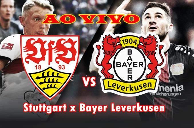 Onde ver online Stuttgart x Bayer Leverkusen AO VIVo. foto/Montagem