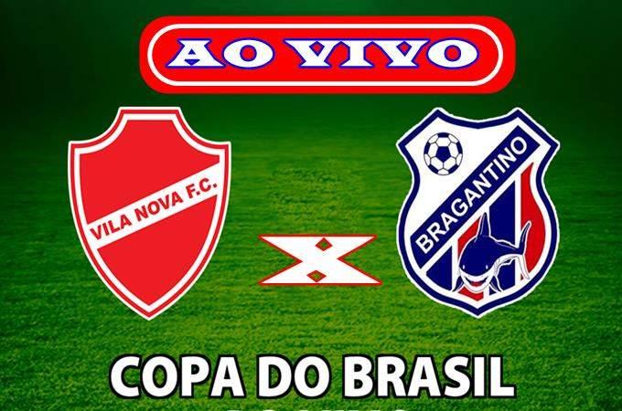 Veja onde assistir Vila Nova x Bragantino PA ao vivo online. Foto/Montagem