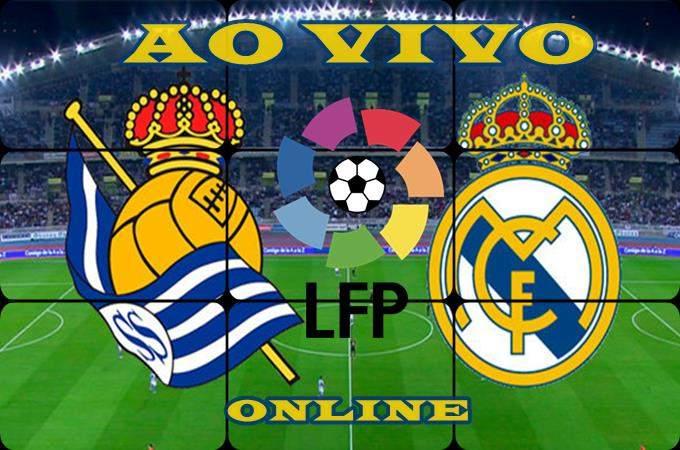 Assistir Real Sociedad e Real Madrid ao vivo online. Foto/Montagem